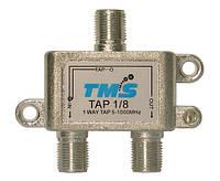 Ответвитель абонентский TAP 1/ 8 TMS (один выход -8дБ, проходной выход)