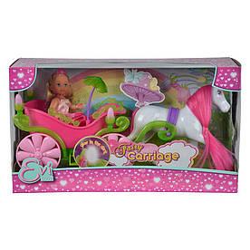Набір ляльковий Єва і казкова карета з конем (5735754)