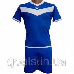 Форма футбольная детская SWIFT 26 Idea Tactel (сине/белая) р.152 см