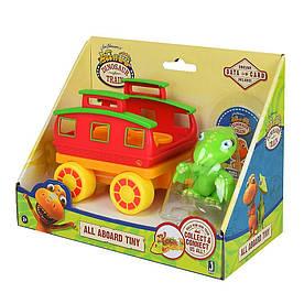 Игровая фигурка Тайне и вагон в коробке Jazwares Dino Train (12615 (12619))