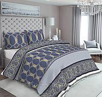 Европейское качество - постельное белье из 100% хлопка. Размер пододеяльника - 2х2,15, простыни - 2,4х2,2