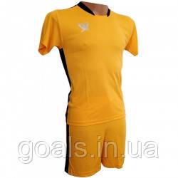 Футбольная форма детская Swift PRIORITET (желто-черный) 158 см