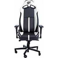 Геймерское кресло GT Racer X-8009 Black/White, фото 1