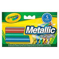 Фломастеры Crayola цвета металлик (58-5054)