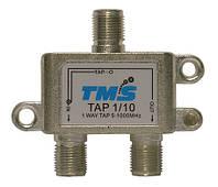 Ответвитель абонентский TAP 1/10 TMS (один выход -10дБ, проходной выход)
