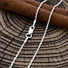 Серебряная цепочка Якорная длина 40 см ширина 1 мм вес 1.7 г, фото 3