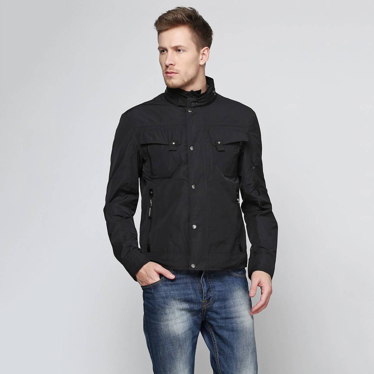Куртка мужская Geox M0120S BLACK (48)