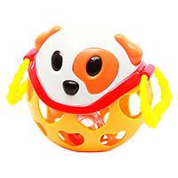 Погремушка Bebelino Мягкий мяч Собака (58059)