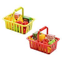 Игровой набор Корзина для супермаркета с продуктами Smoby (981)