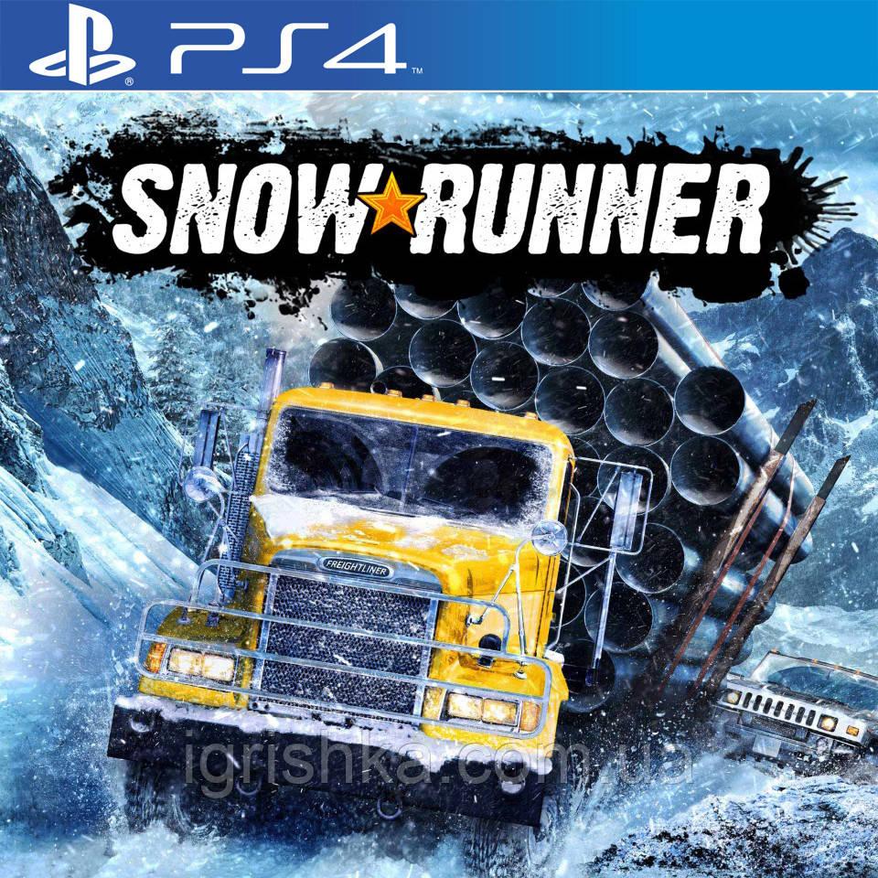 SnowRunner Ps4 (Цифровой аккаунт для PlayStation 4) П3