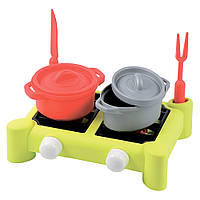 Игровой набор Плита и посуда Ecoiffier 7 аксессуаров (000602)