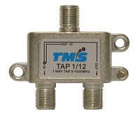 Ответвитель абонентский TAP 1/12 TMS (один выход -12дБ, проходной выход)