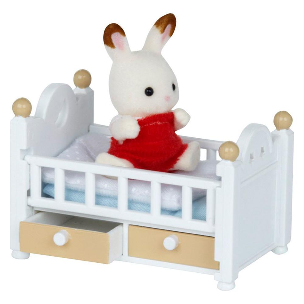 Игровой набор Шоколадный кролик в кроватке Sylvanian Families (5017)