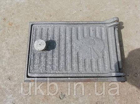 """Дверца поддувальная чугунная 235*160 мм """"ПОЛОСА"""", фото 2"""