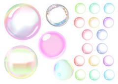"""Вафельна картинка   """"Мильні бульбашки"""""""