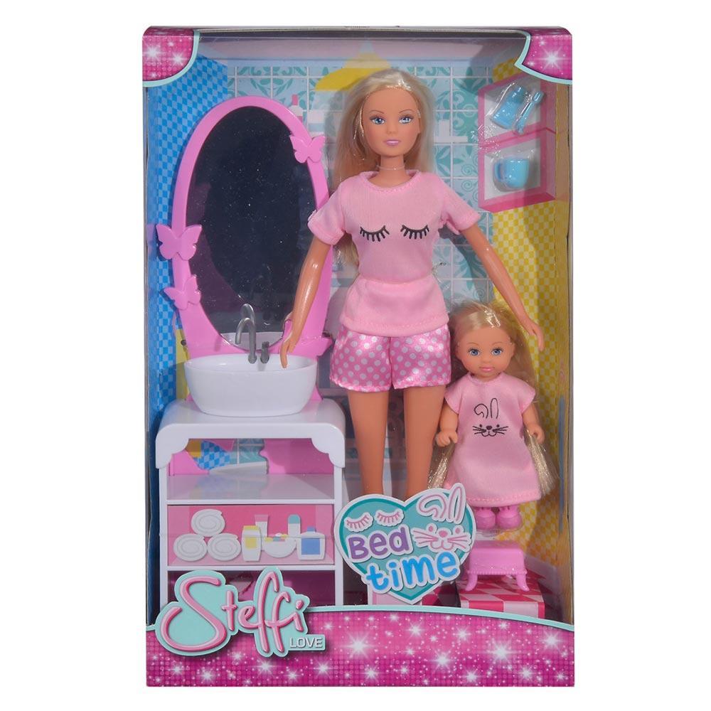 Кукольный набор Steffi & Evi Love Время в кровать (5733198)