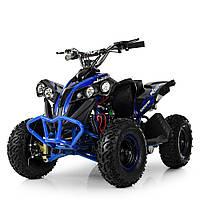 Детский электромобиль квадроцикл Profi HB-EATV1000Q-4ST(MP3) V2 синий, фото 1