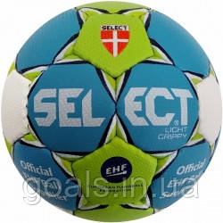 Мяч гандбольный SELECT LIGHT GRIPPY MICRO (зел/голуб) р.00