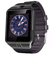 Розумні годинник Smart Watch GSM Camera DZ09 Black