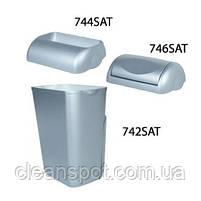 Корзина для мусора пластик сатиновый 23 л.  A74201SAT, фото 2
