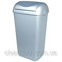 Корзина для мусора пластик сатиновый 23 л.  A74201SAT, фото 4