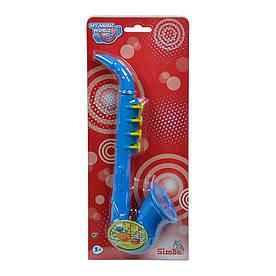 Детский музыкальный инструмент Саксофон Simba Веселые ноты (6834045)