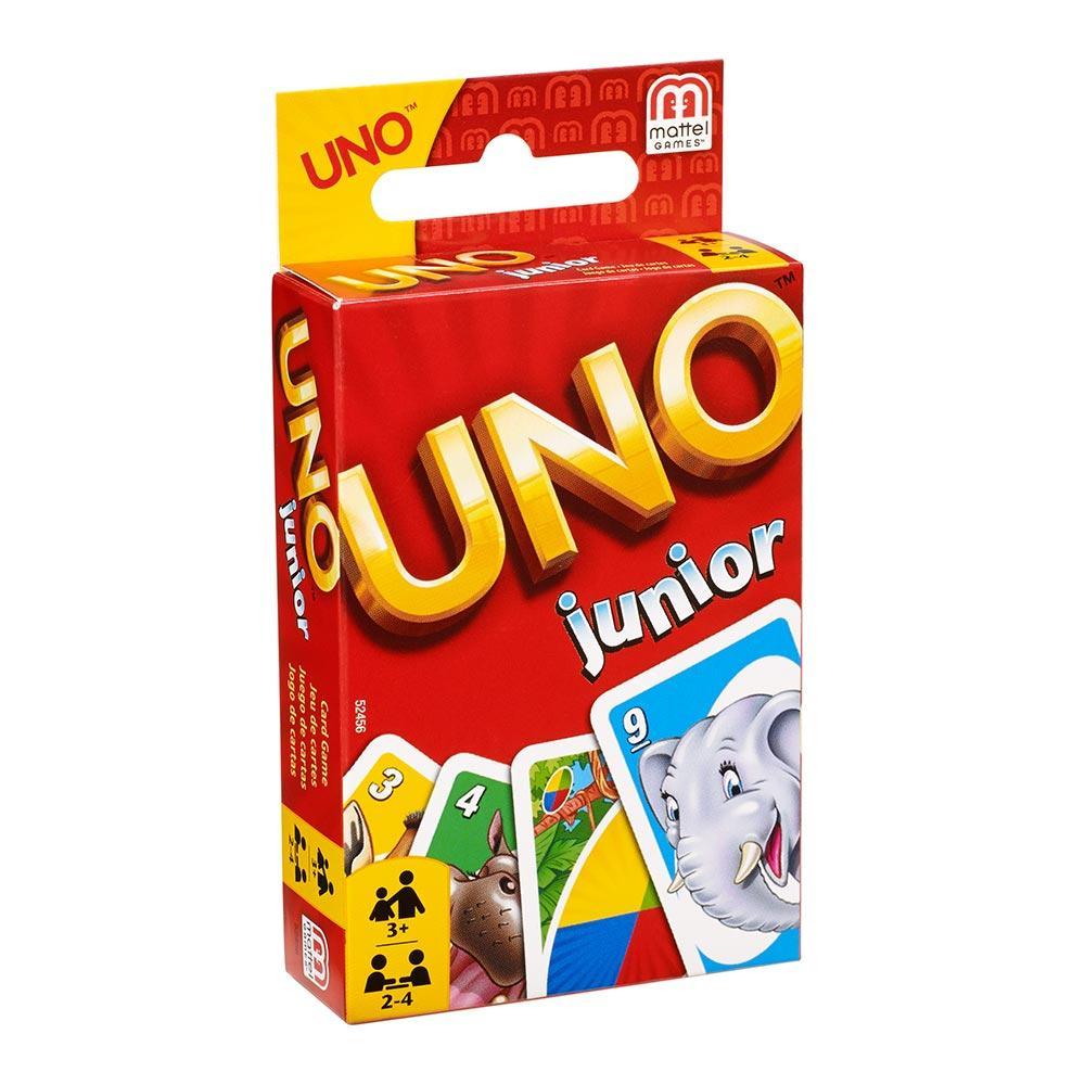 Настольная игра Mattel Games UNO junior (52456)