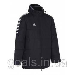Куртка зимняя SELECT ARGENTINA COACH JACKET,(010) черный р.12 лет
