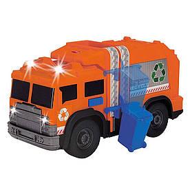 Авто Dickie Toys Мусоровоз со светом и музыкой (3306001)