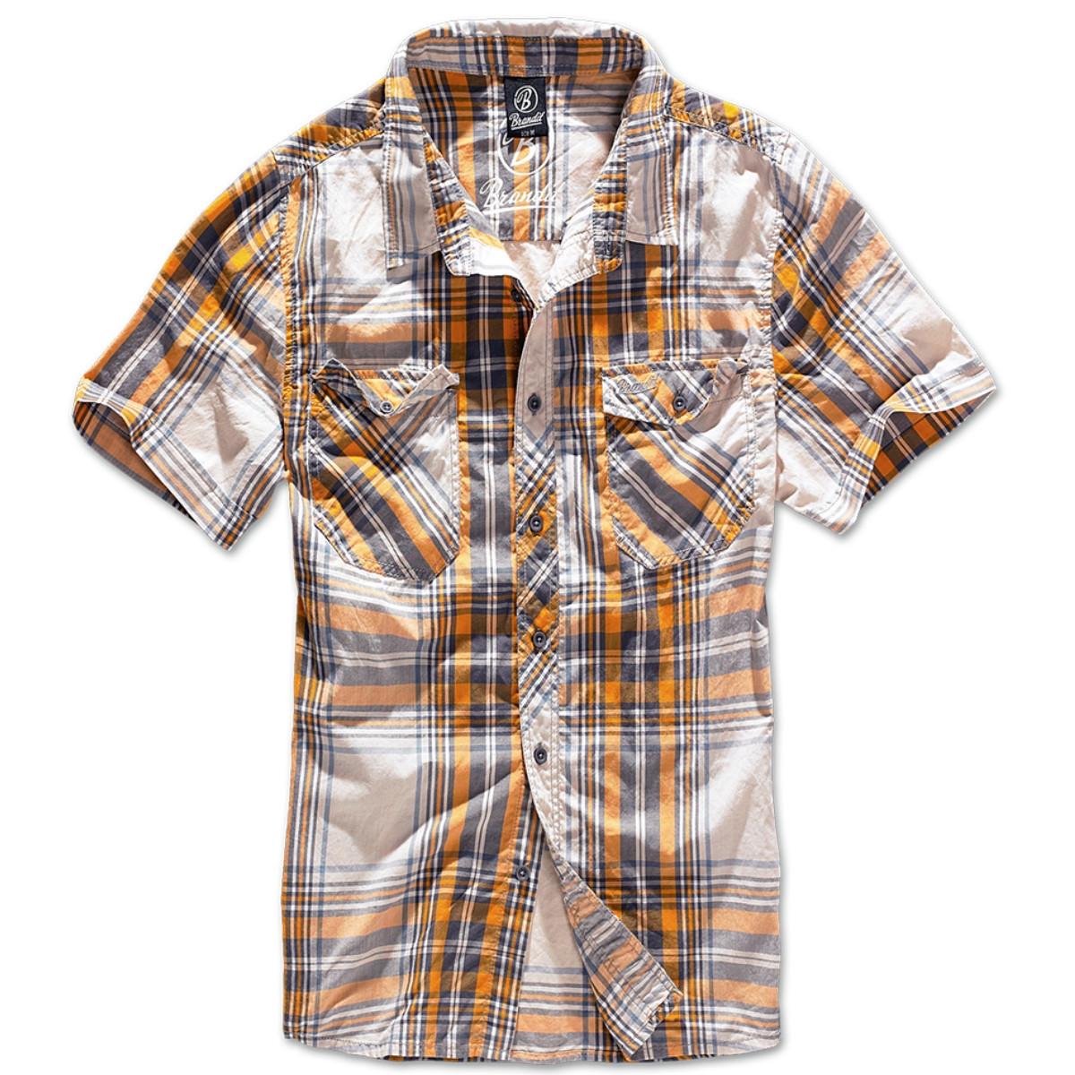 Рубашка Brandit Roadstar SAND-YELLOW (L)