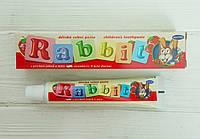 Детская зубная паста Rabbit 45 мл (Чехия), фото 1