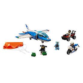 Конструктор LEGO Лего City Воздушная полиция арест с парашютом (60208)