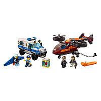 Конструктор LEGO Лего City Воздушная полиция похищение бриллианта (60209)