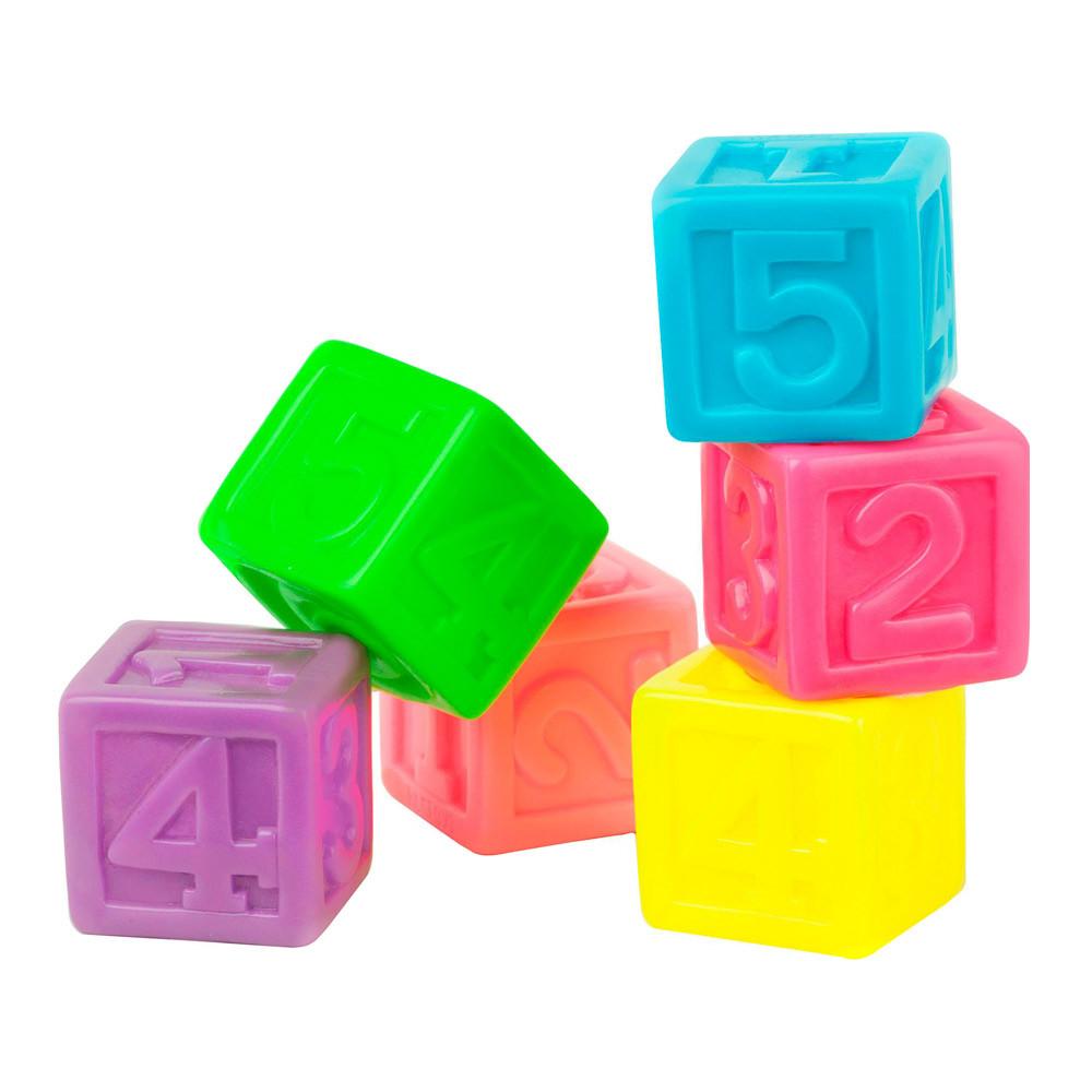 Набір іграшок для ванни Bebelino Кубики з цифрами (57089)