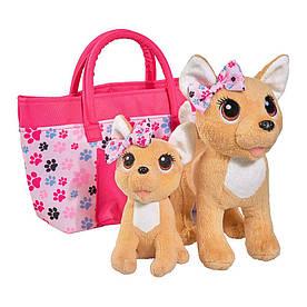 М'яка іграшка Chi Chi Love Собачки Чихуахуа Щаслива сім'я (5893213)