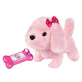 М'яка іграшка Chi Chi Love Маленький щеня на дистанційному управлінні 17 см (5893237)
