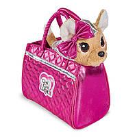 Мягкая игрушка Chi Chi Love Чи чи лав Чихуахуа Модный гламур с сумочкой 20 см (5893125)