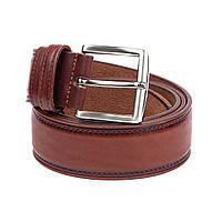 Ремень Woman's heel кожаный коричневый (Р-50)