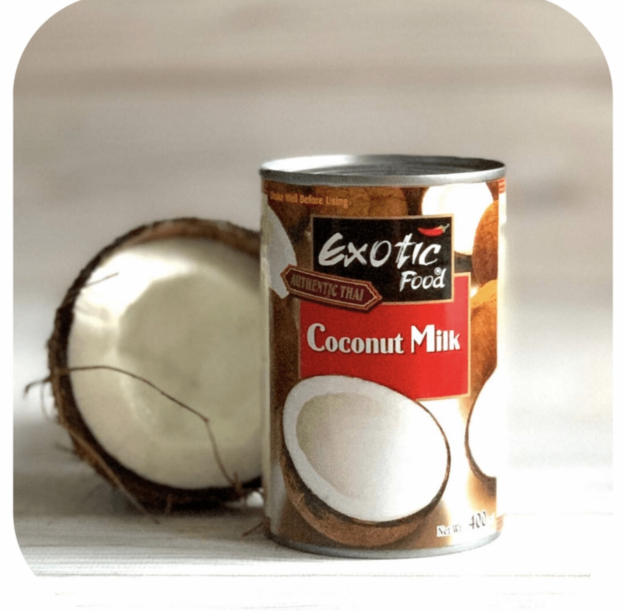 Кокосове молоко Exotic Food 160 мл