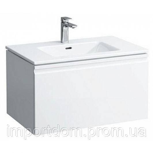 Мебельный комплект Laufen Pro S 80 см (шкафчик+умывальник) белый глянец+ящик