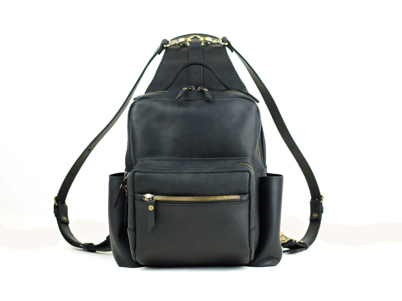Рюкзак жіночий міський шкіряний