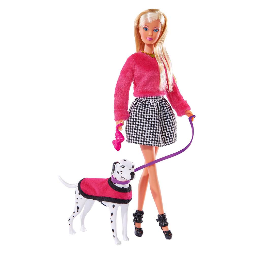 Игровой набор Кукла Штеффи с далматинцем Steffi & Evi Love (573 8053)