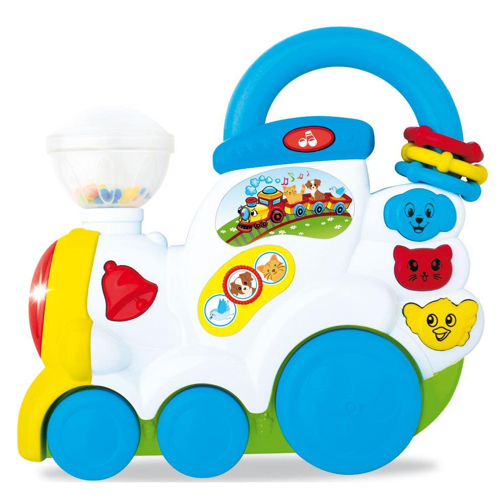 Музыкальная панель BeBeLino Поезд с животными (58085)
