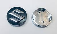 Заглушки ковпачки литих дисків Suzuki чорні
