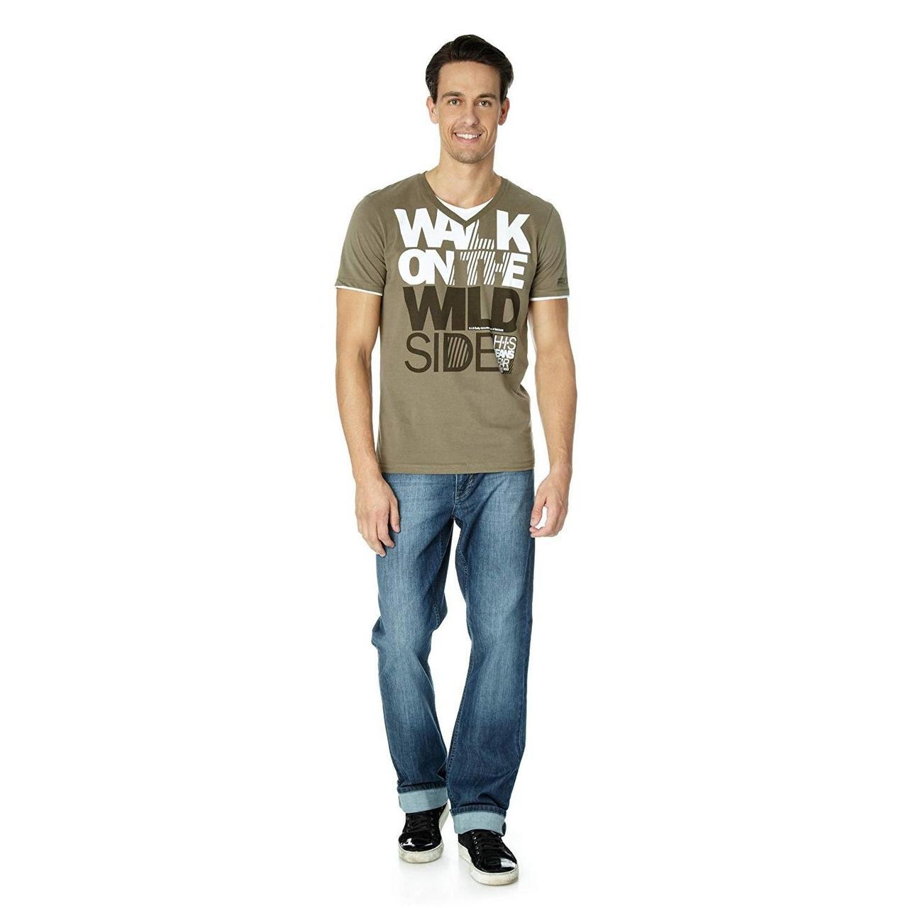 Чоловіча футболка HIS HS828130 (M)