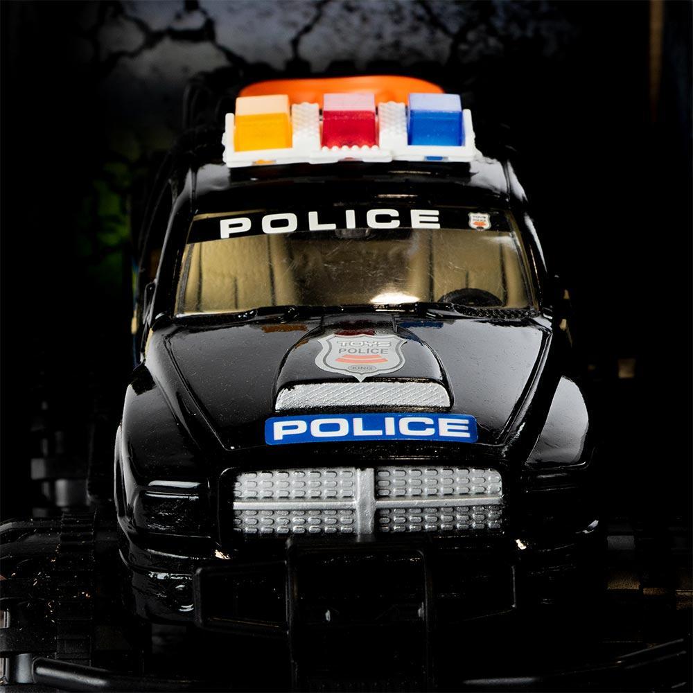 Машинка инерционная Shantou Jinxing Внедорожник полиции черный (YD2323B)