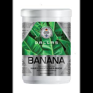 Маска для укрепления волос 1000 мл Banana Dallas 723185