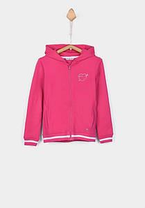 Кофта спортивная для девочки розовая