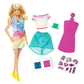 Игровой набор Barbie Барби Crayola Цветной штамп (FRP05)