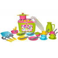Кухонный набор 9 ТехноК 3596 посуда плита аксессуары